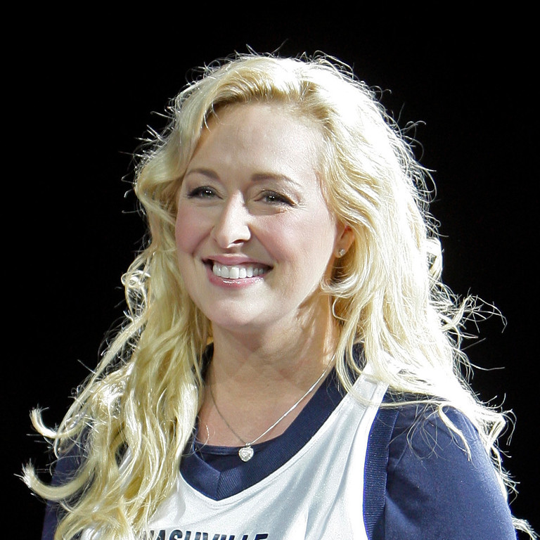 . In this Nov. 14, 2008 file photo, Country singer Mindy McCready performs, in Nashville, Tenn. McCready, who hit the top of the country charts before personal problems sidetracked her career, died Sunday, Feb. 17, 2013. She was 37. (AP Photo/Mark Humphrey, File)
