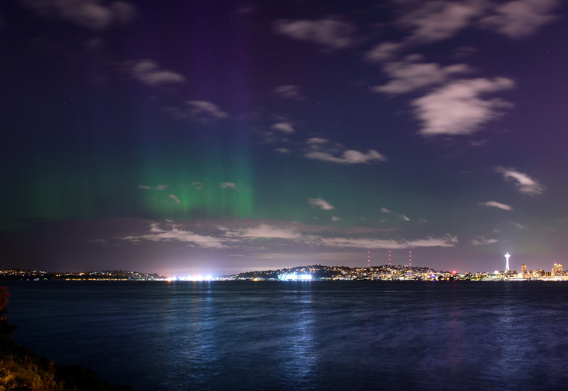 Mother's Day Northern Light show May 8th 2016
