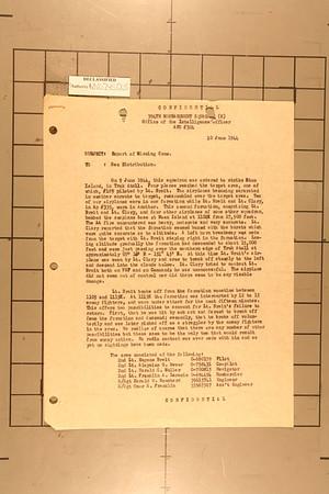 5th BG June 9, 1944
