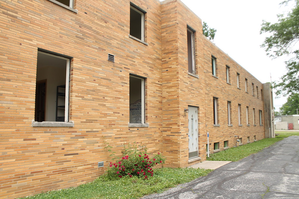 . The Grove (convent)  at Saint Mary Magdalene\'s in Willowick will be demolished after crews finish demolition on the rectory which was started June 11. Kristi Garabrandt - The News-Herald