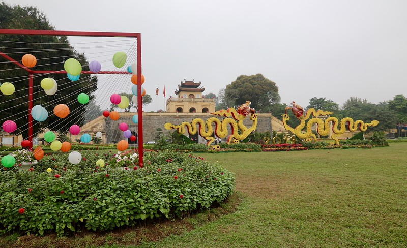 Imperial Citadel of Thăng Long. (When Lý Thái Tổ established the capital in the area in 1010, Hanoi was known as Thăng Long)