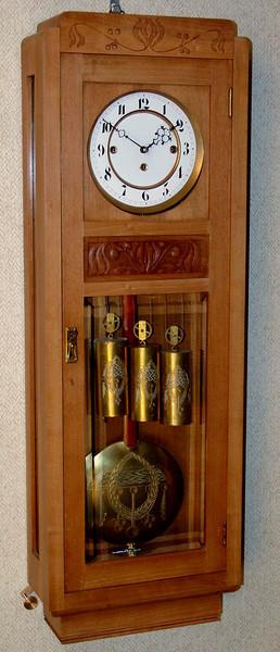 VR-358 - Jugendstil 3 weight Vienna Regulator - Viennese!