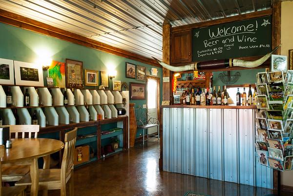 Jane's Saddlebag Wine Room