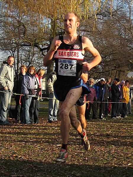2005 Canadian XC Championships - Eric Kiauka 20th (31:32)
