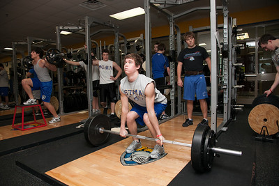 Weight lifting 2012