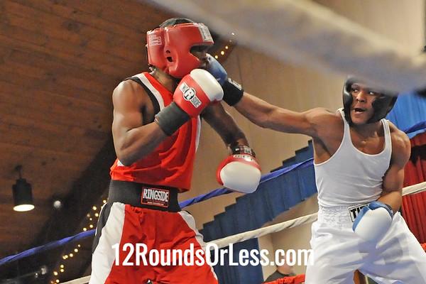Bout 12 Dwayne Rosebury, Cleveland -vs- Lavelle Hadley, SSBC 152 lbs.