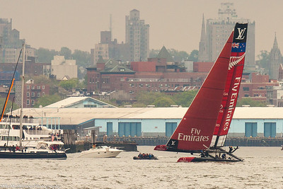 America's Cup NYC Hudson River