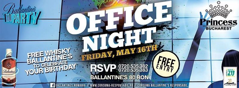 "<FONT SIZE=""1"">Office Night @ Princess Club Bucharest, Romania 5.16.14"