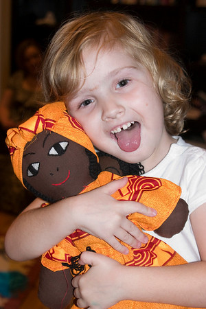 2008.11 Katie's African Doll