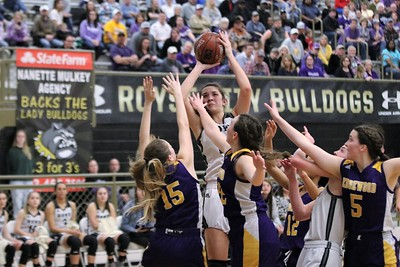 Lady Bulldogs vs. Edgewood, Regional Quarter Champs, 2/25/2020