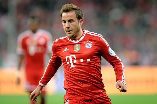 Bayern München - Kaiserlautern 2014