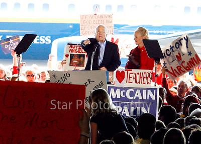McCain Airport Rally