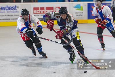 Inline Hockey 3. Liga Nord: Z-Fighters Oberrüti-Sins - Ochsner Hockey Inline Team Biel