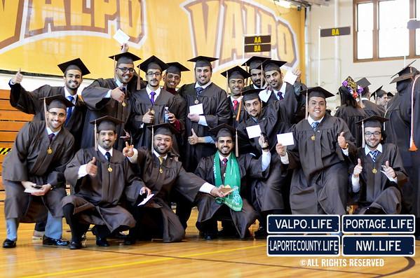 Valparaiso University Graduation 2016