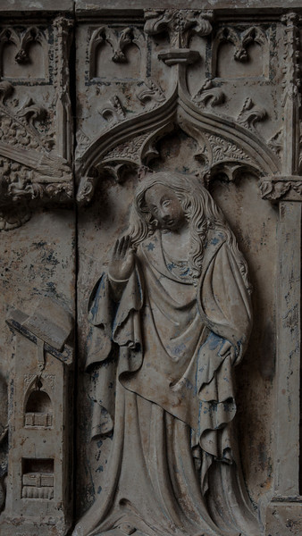 Chaource - The Annunciation - The Virgin