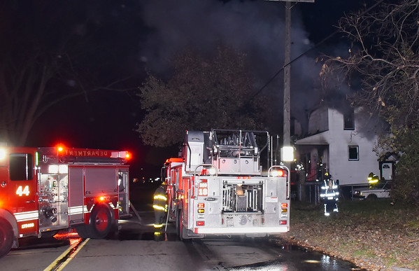 Detroit, MI. Box Alarm 1518 E Navada. Dwelling fire