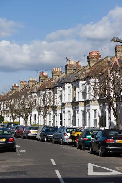 Street in Shepherds Bush, W12, London, United Kingdom