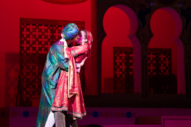 """Lalume and Hajj (""""Bored"""") -- Kismet, Montgomery Blair High School spring musical, April 15, 2016 performance (Silver Spring, MD)"""