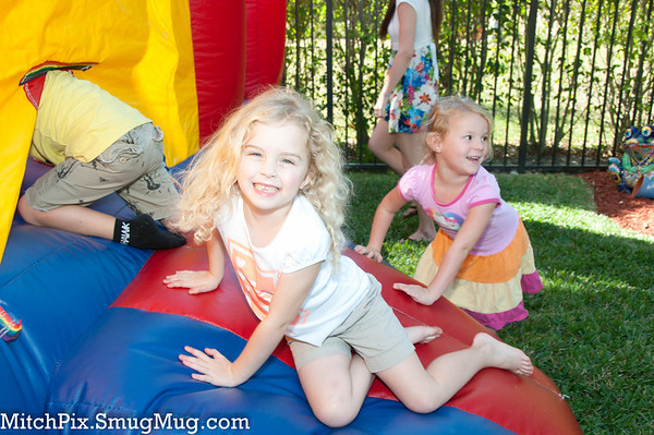 Triplet's 5th Birthday Party