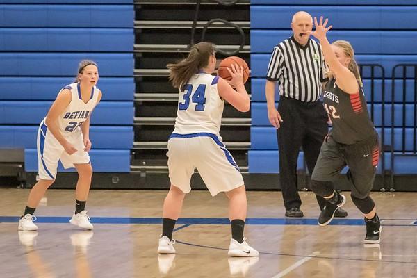 DHS Girls Basketball 11-29-2018