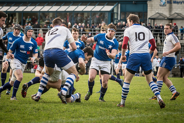 1st XV v Cork Con (H) by Tom Beary