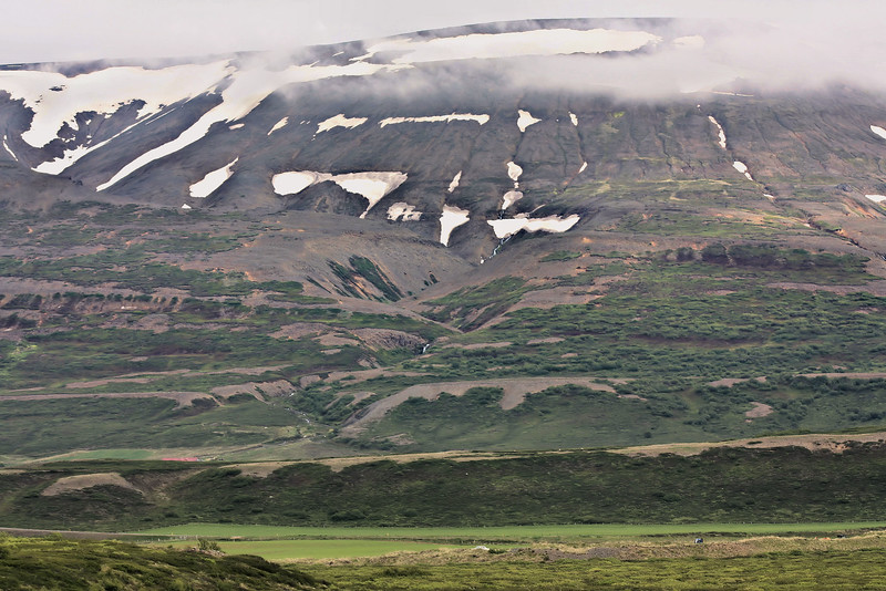 Snow is near West Iceland - the snow line is never far above you.