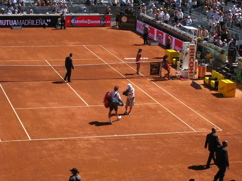 Roger at Madrid Open (3)