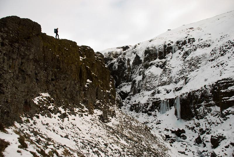 Horft inn Þórisgil