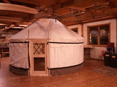 North House yurt class