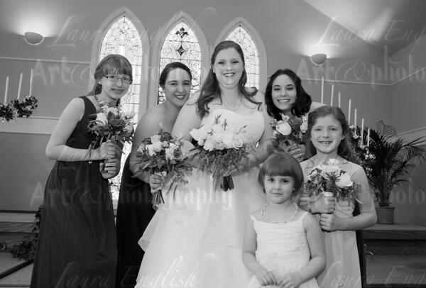 Formal Wedding Poses: Colin & Rebecca
