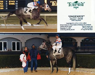 INGENIUS - 12/31/2001