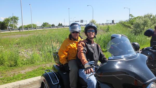 Randonnée de moto