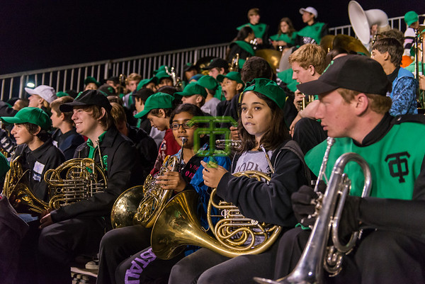 Football Game & Middle School Band Night - Oct. 11, 2013