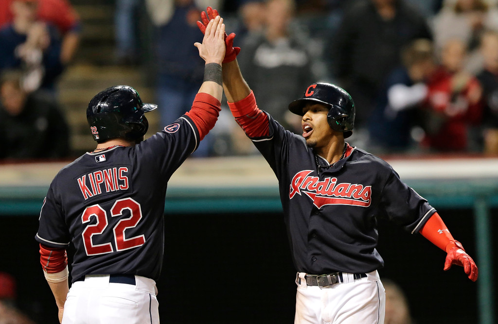 . Another big year from Francisco Lindor and Jason Kipnis >> Kipnis played in 156 games and Lindor 158 last season. They combined to score 200 runs and drive in 160. Any team would be happy with those numbers from its middle infielders. (AP Photo/Tony Dejak)