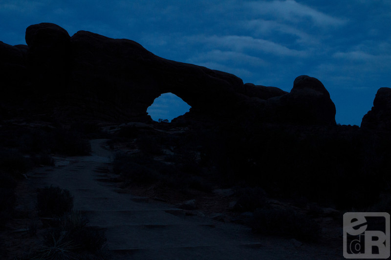 Arch in Arches National Park, Utah