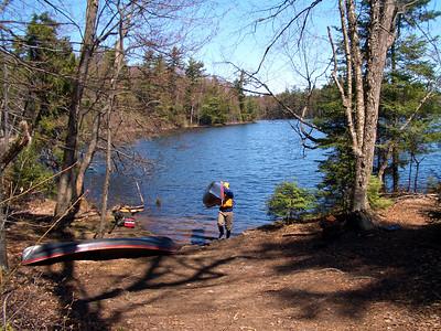 St. Regis Pond, April 2006