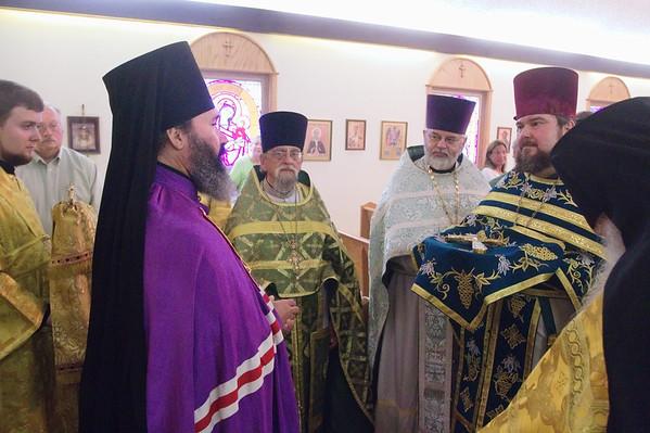 2011-07-20 Archbiship Justinian St. Elias Day