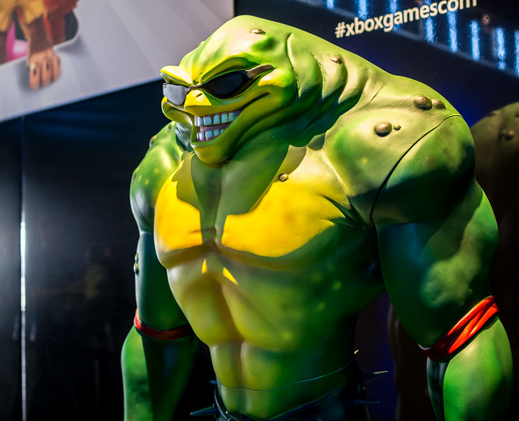 Battletoads at Gamescom 2015