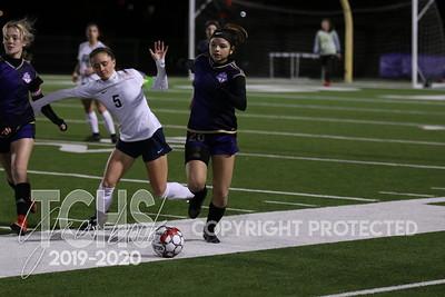Jan 28, 2020 - Girls Soccer vs Keller
