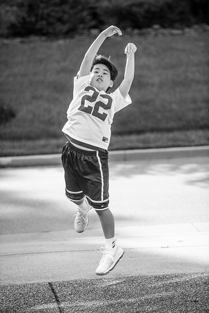 Spencer Basketball-B&W