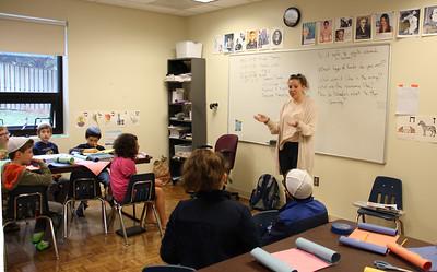 OT's shlicha, Gefen, visits OTRS classrooms