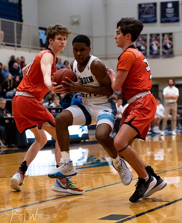 2-13-2020 HVA vs Clinton Boys Varsity Basketball