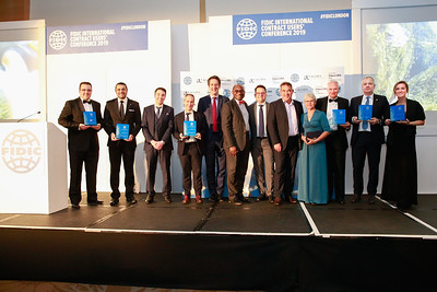 FIDIC Contracts Awards London 2019