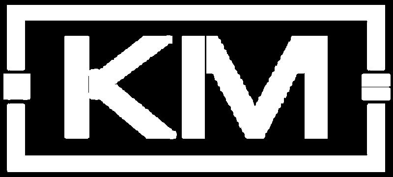 Kevin Michael KM Logo White.png