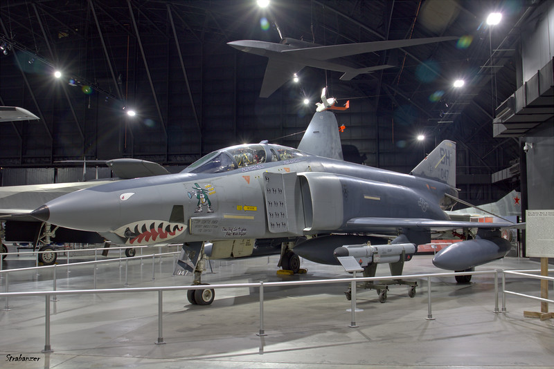 National Museum of the United States Air Force, Dayton, Ohio,   04/13/2019  McDonnell RF-4C-22-MC Phantom II c/n 947  64-1047  This work is licensed under a Creative Commons Attribution- NonCommercial 4.0 International License.