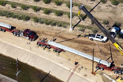 Reeve Trucking Hughson Bridge 3/4/21