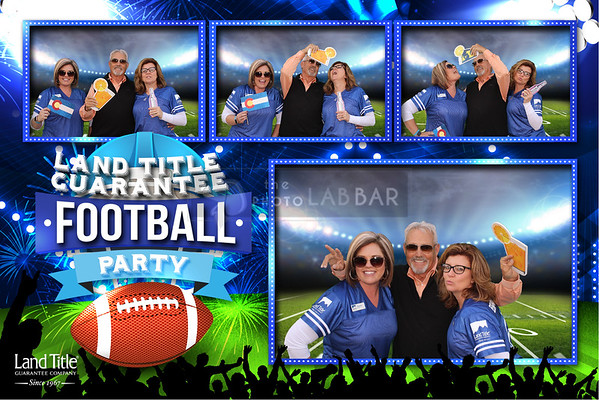 Land Title Guarantee Football Party