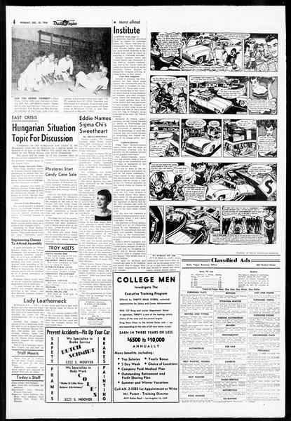 Daily Trojan, Vol. 48, No. 55, December 10, 1956