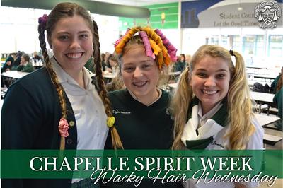 Spirit Week - Wacky Hair Wednesday