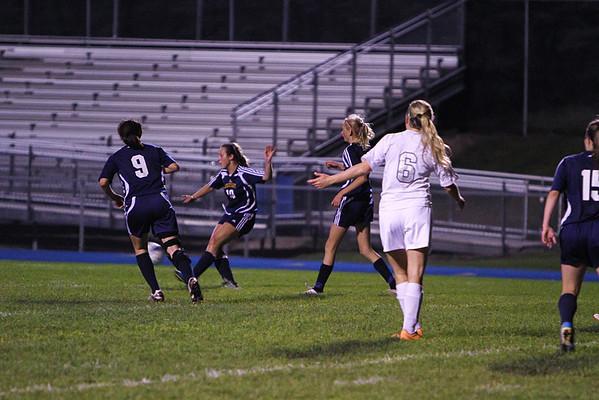 2013 Girls Soccer vs Kennedy